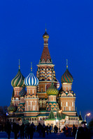 St. Basil's.  Moscow, Russia.