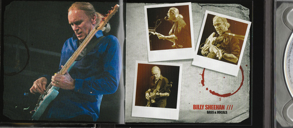 Winery Dogs CD Booklet.